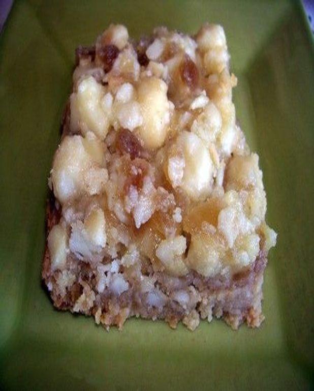 Carré gourmands aphrodisiaques au gingembre et noix de macadamia