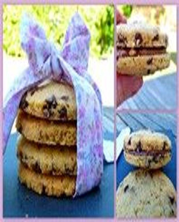 Cookies briochés au chocolat