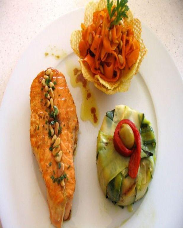 Darnes de saumon au beurre à l'orange