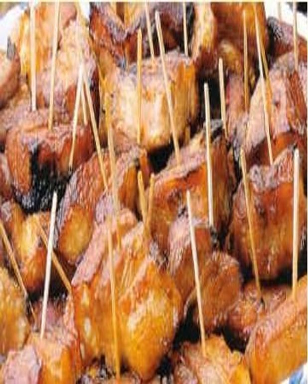 Filet mignon de porc laqué au miel vanillé