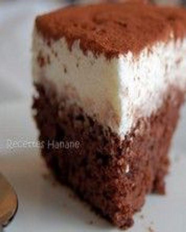 Gâteau au fromage blanc et au chocolat