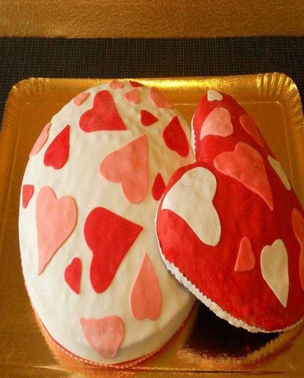Gâteau de la Saint-Valentin à la citre