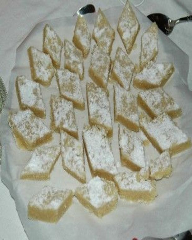 Gâteau oriental à l'amande