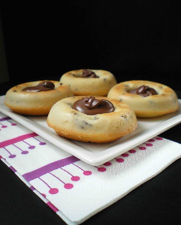 Gâteaux Tigrés Au Nutella Pour 8 Personnes
