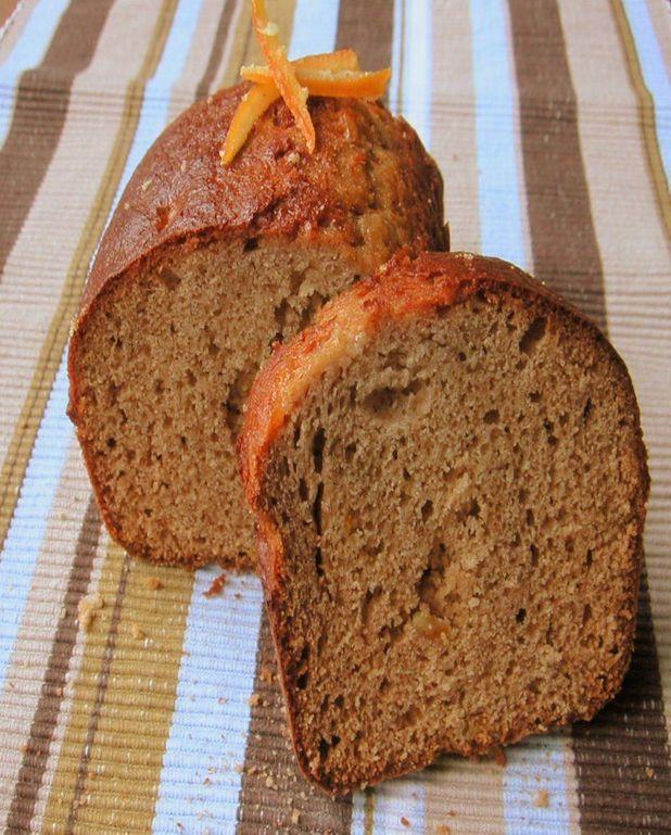 Pain d'épices aux écorces d'oranges confites