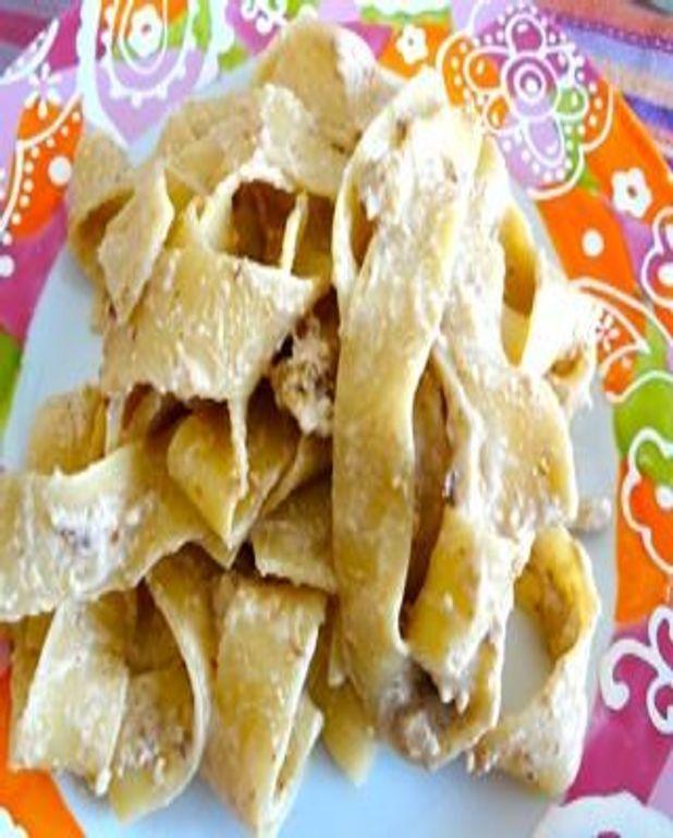 Pasta aux noix