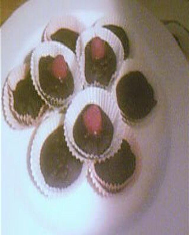 Petits cakes au chocolat allégés