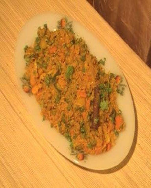 Pulao indien riz aux légumes