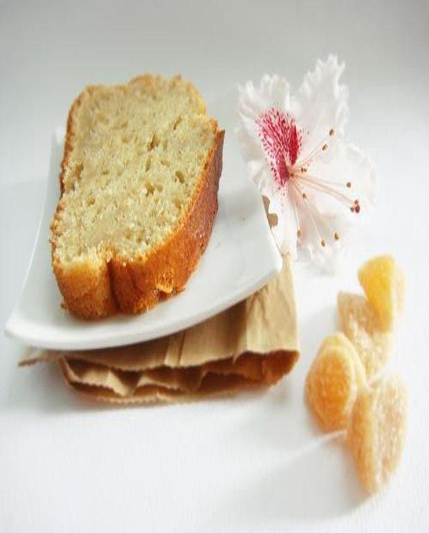 Gâteau au yaourt, fenouil, gingembre