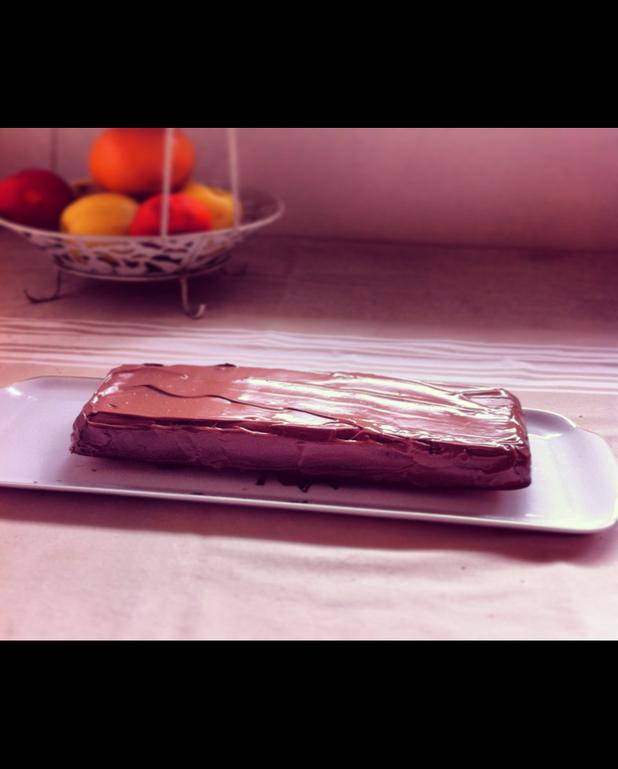 Gâteau au chocolat Milka
