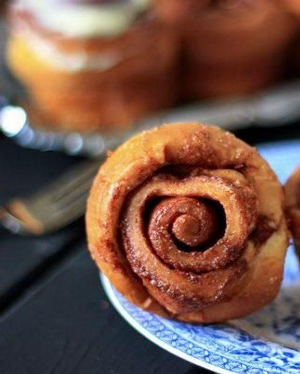 Cinnamon rolls au chai