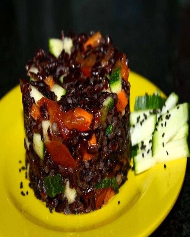 Salade de riz venere