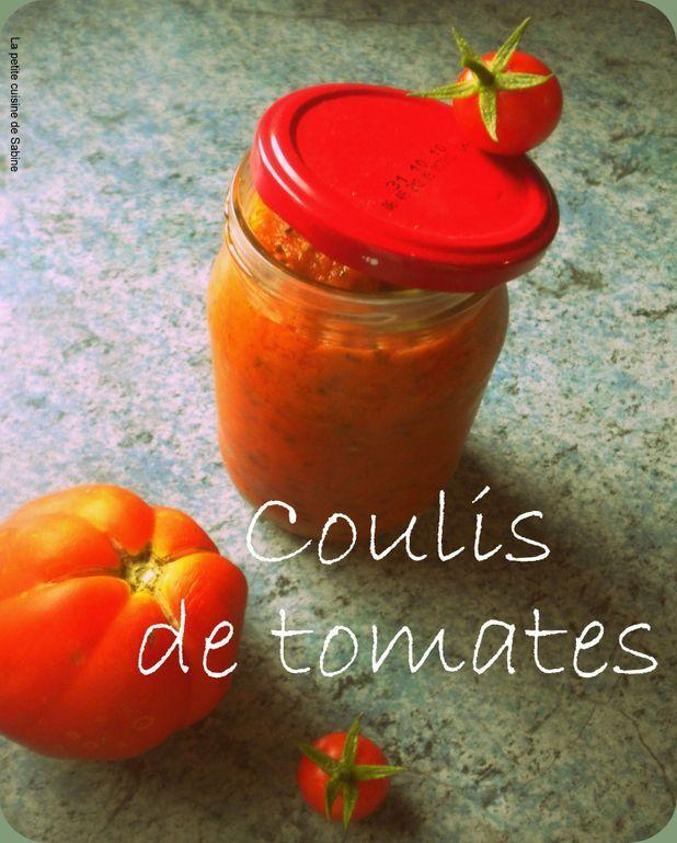 "Sauce tomate façon ""nonna"""