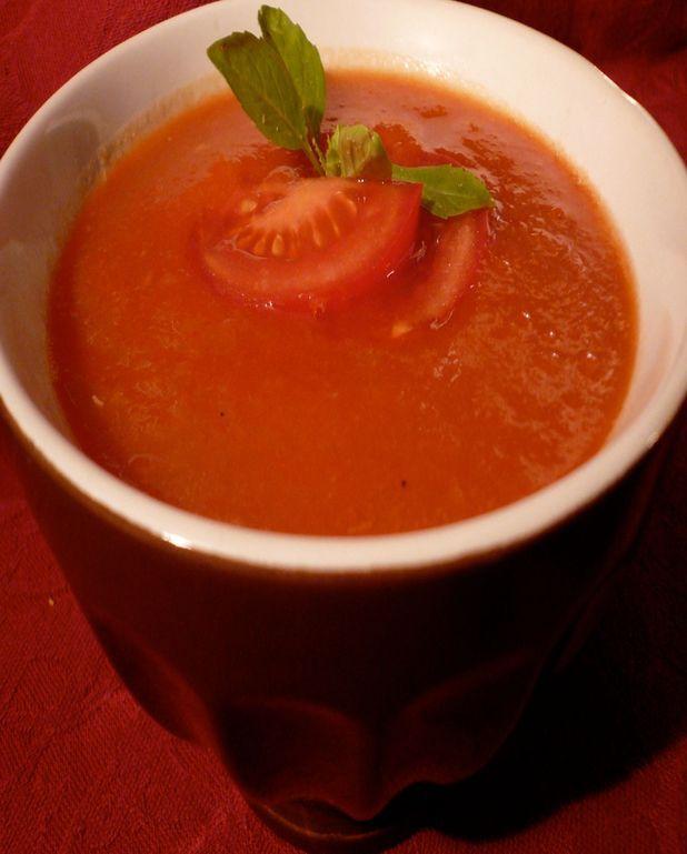 Soupe très light à la tomate