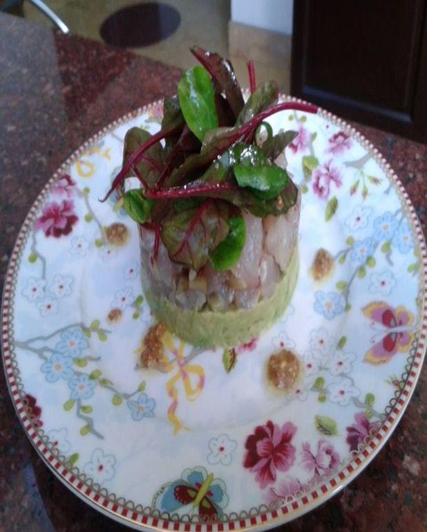 Tartare de dorade au guacamole