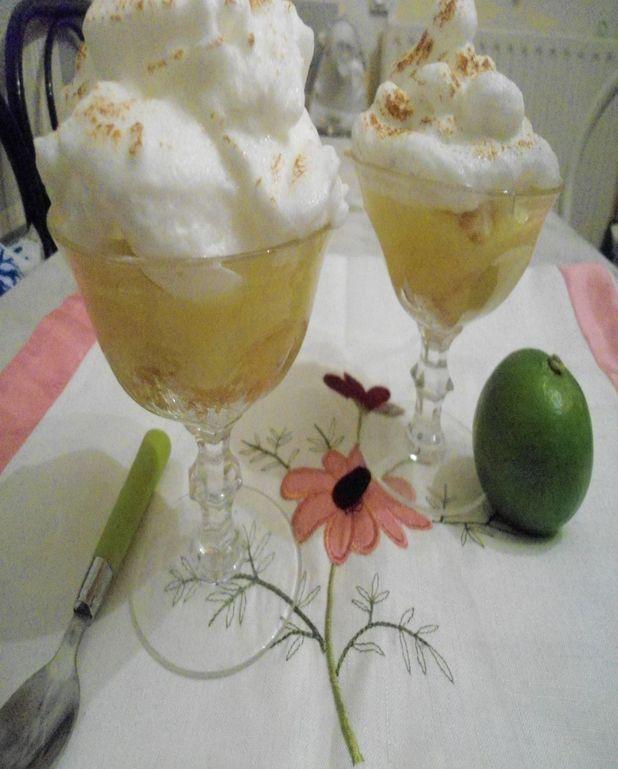 Tarte au citron destructurée