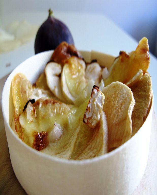 Tartelettes pomme camembert sans gluten