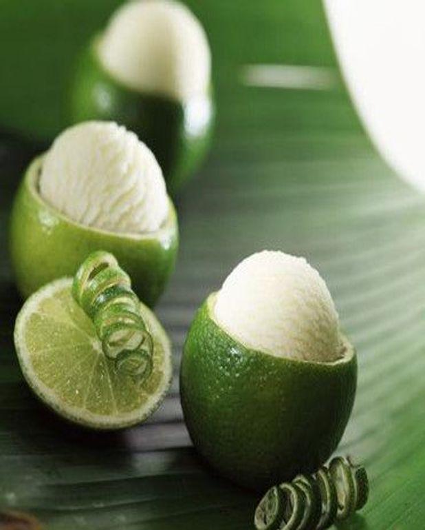 Sorbet ail citron vert