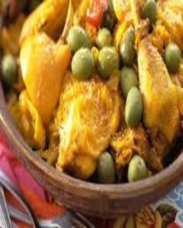 Tajine au poulet