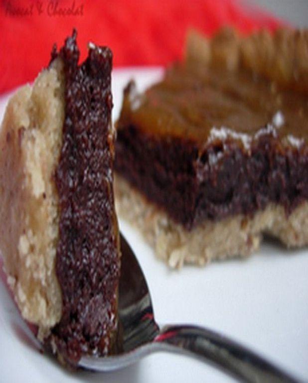 Tarte chili à la mousse cuite au chocolat noir et piment, caramel de banane