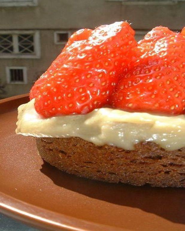 Tartelettes fraises et speculoos