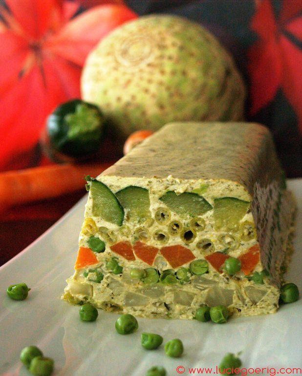 Terrine de légumes au parfum d'oseille