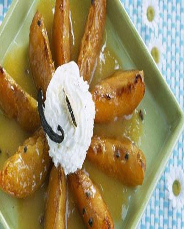 Abricots poêlés à la cardamome