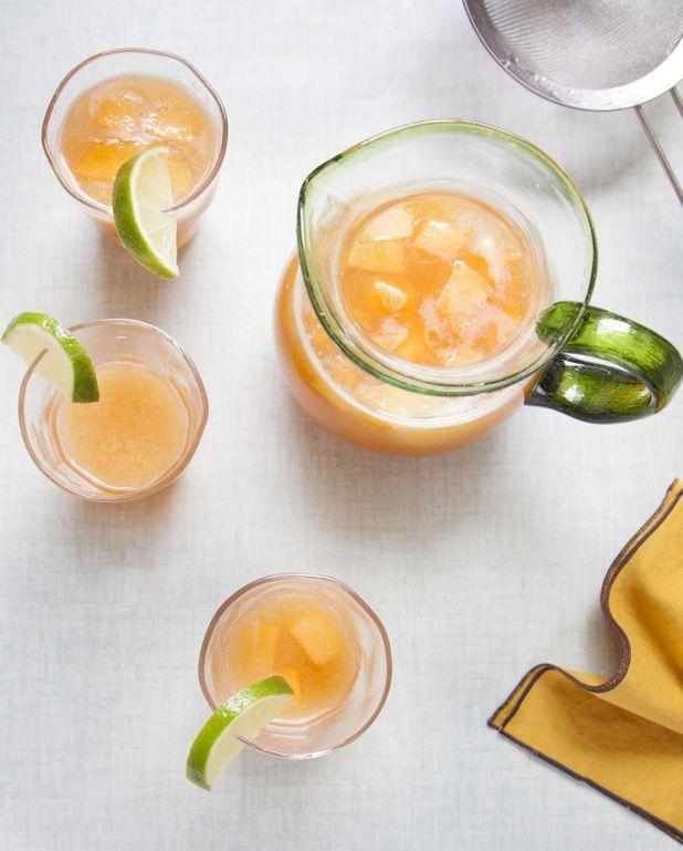Agua fresca de melon