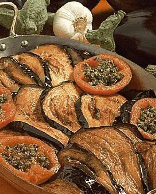 Aubergines à la Catalane