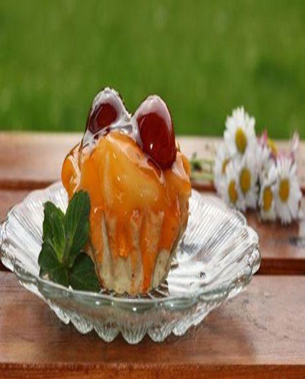 Baba à la marmelade de fruits de saison
