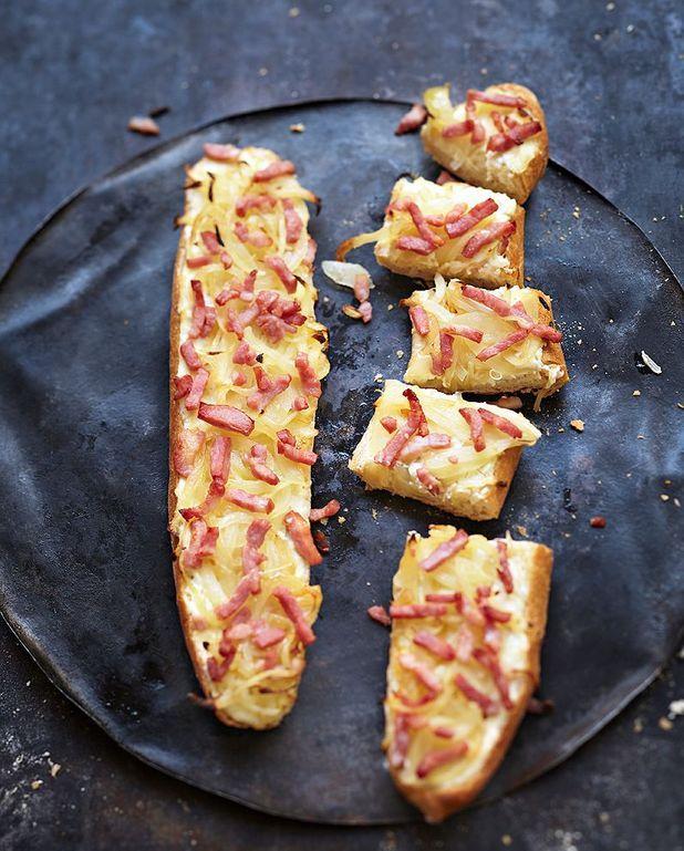 Baguettes flambées