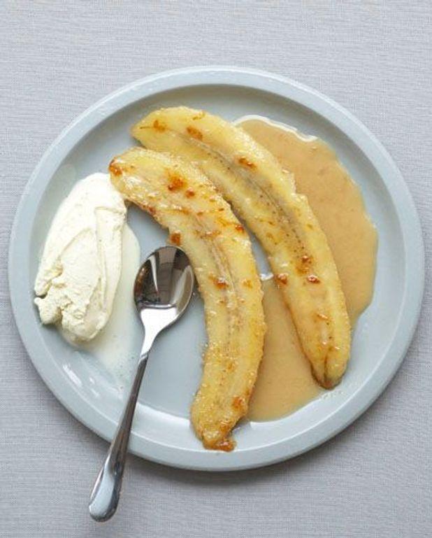 Bananes flambées au rhum