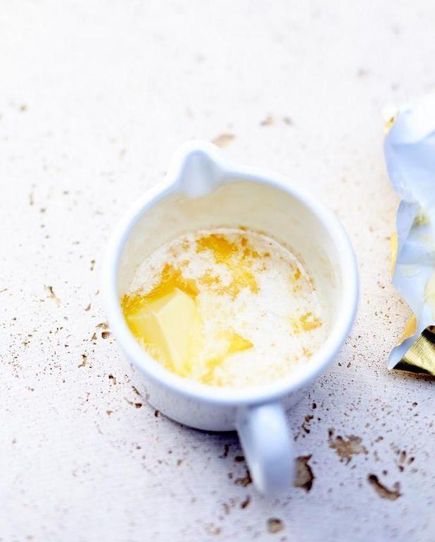 Beurre clarifié à faire à l'avance
