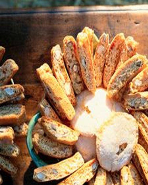 Biscotti à la menthe et à l'angélique
