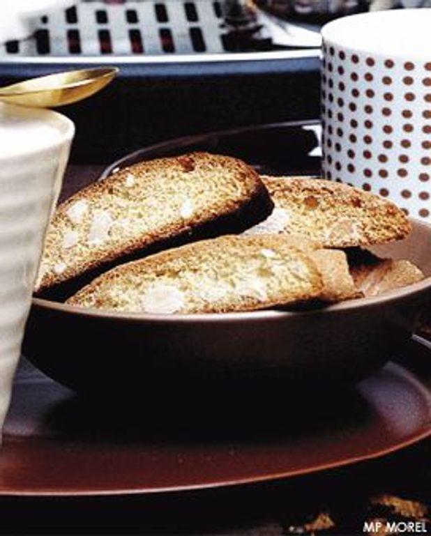 Biscottis aux amandes