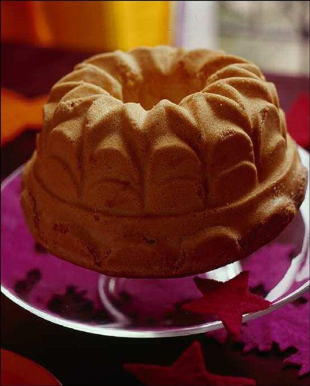 Biscuit de savoie et crème anglaise au malabar