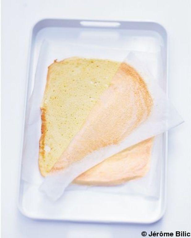 Biscuit roulé : recette de base