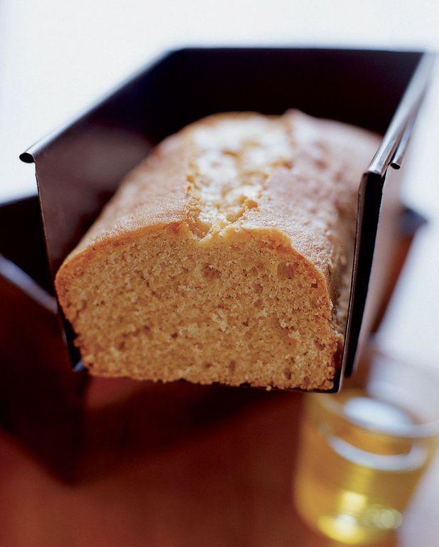Cake tiède à l'huile d'olive au citron