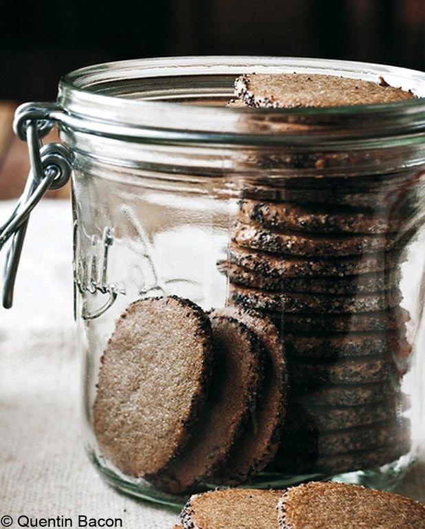 Biscuits aux graines de pavot