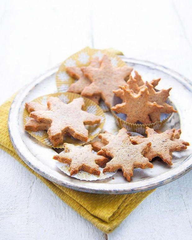 Biscuits de Noël végétariens aux noisettes