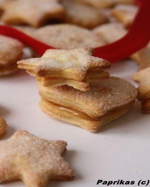 Biscuits feuilletés
