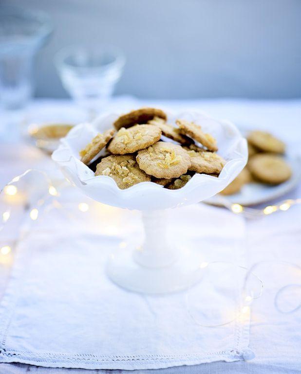 Biscuits moelleux au gingembre et poudre de maca