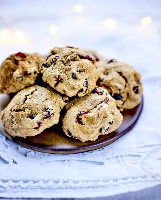 Biscuits moelleux aux cranberries, farine d'épeautre et de souchet