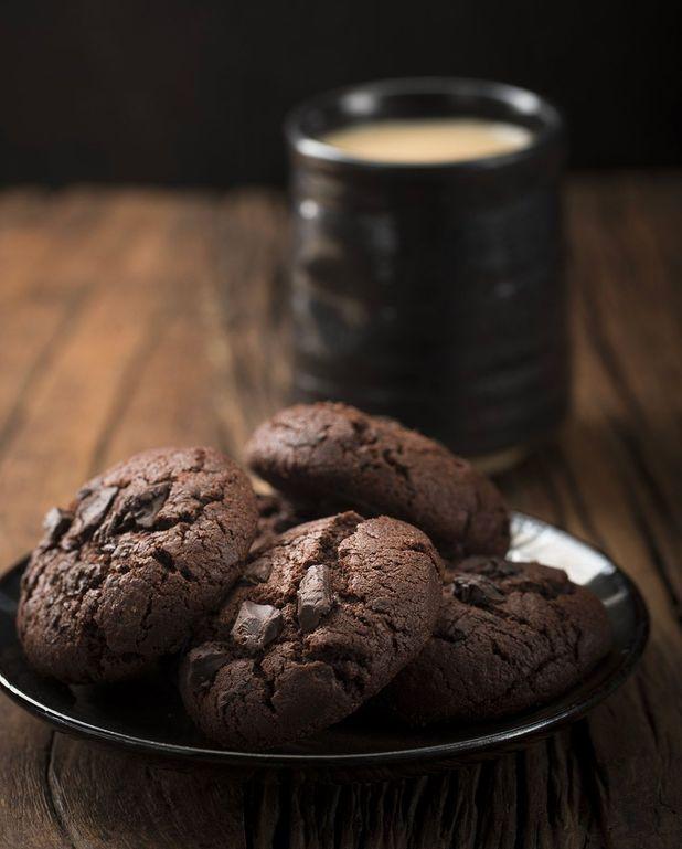 Biscuits sans farine au cacao parfumé