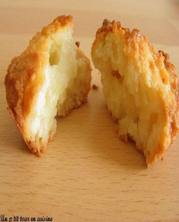Biscuits tendres à la noix de coco