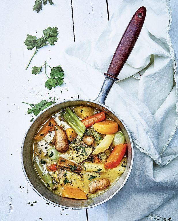 Blanquette de légumes au curry