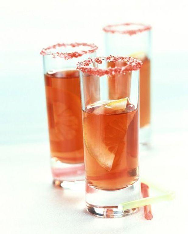 Cocktail bombe à feu à la tequila