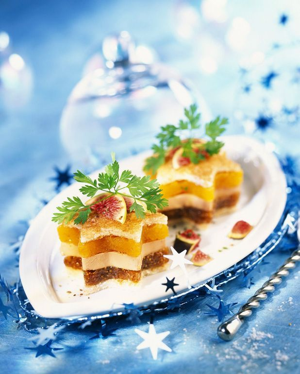 Bouchées de foie gras à la mangue caramélisée