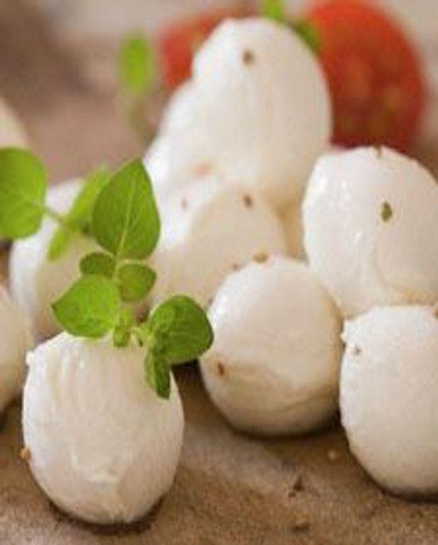 Bouchées gratinées à la mozzarella