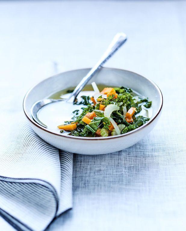 Bouillon au chou kale